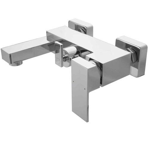 PaulGurkes Wannenarmatur »PGVM23« Aufputz Badewannenarmatur Mischbatterie mit Umsteller