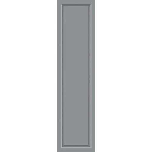 KM Zaun Türseitenteil »S04«, für Alu-Haustür, grau