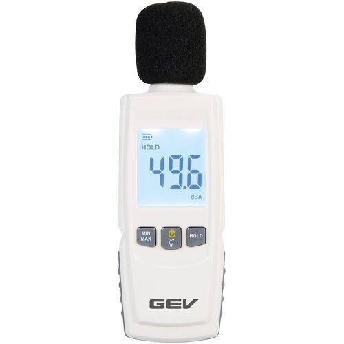 GEV Dezibelmesser »1299«, zur Lärmmessung, weiß