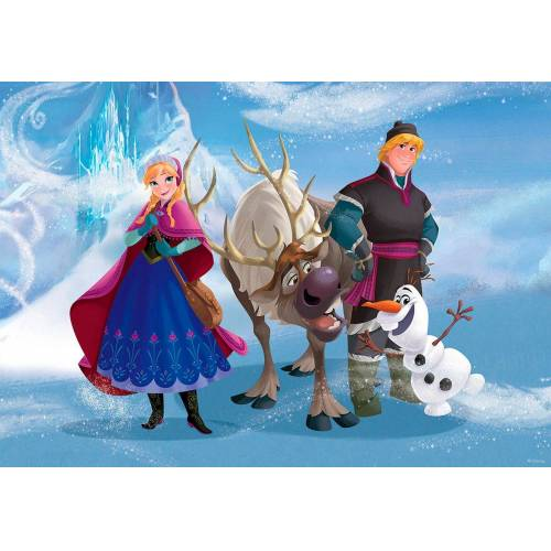 Idealdecor Fototapete »Disney Frozen«, bunt