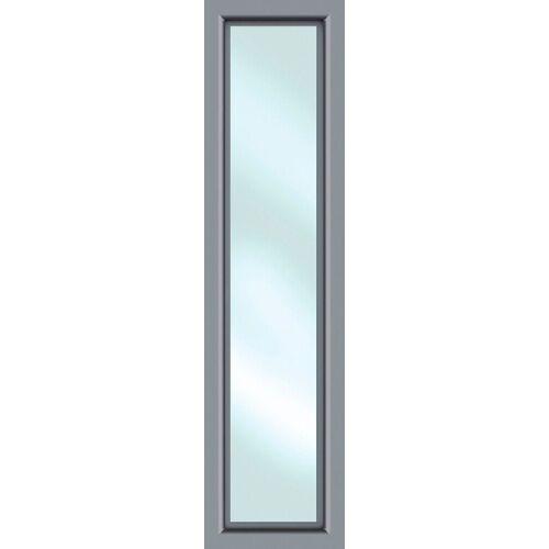 KM Zaun Türseitenteil »S01«, BxH: 60x208 cm, für Alu-Haustür, grau