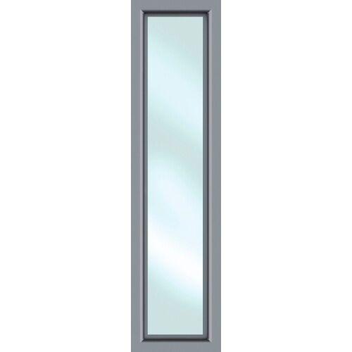 KM Zaun Türseitenteil »S01«, BxH: 60x198 cm, für Alu-Haustür, grau