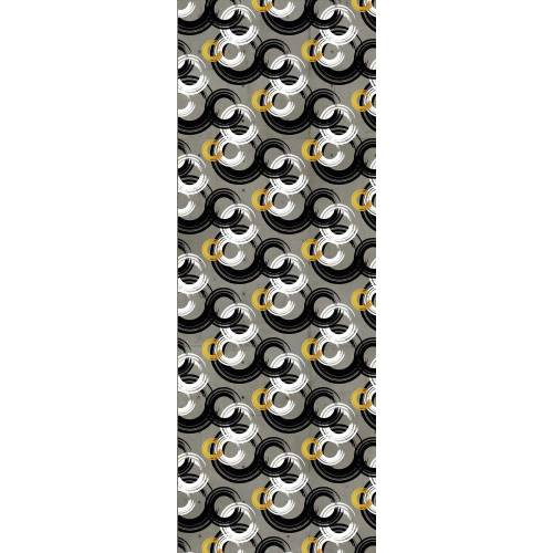 queence Vinyltapete »Sam«, 90 x 250 cm, selbstklebend, grau