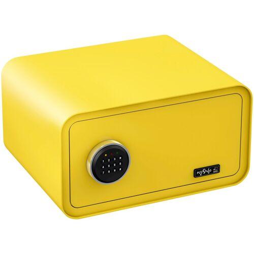 BASI Tresor »mySafe 430«, mit Zahlencode, gelb
