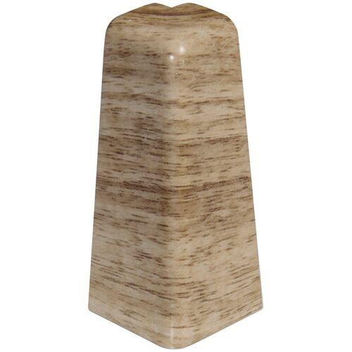 EGGER Außenecke »Eiche beige«, Außeneck-Element für 6 cm Sockelleiste, 2 Stk, beige