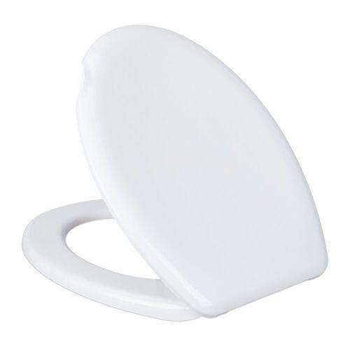 relaxdays WC-Sitz »Toilettendeckel weiß«