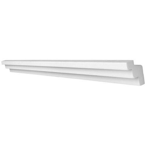 Decosa Zierprofil »Lichtleiste Kristine«, 2 m, weiß