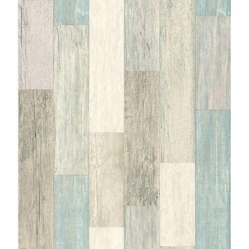 "RoomMates Vliestapete »Tapete ""Holzoptik"", L500 x B50 cm, selbstklebend«"