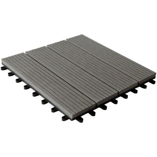 Wolff FINNHAUS Fußboden für Gartenhäuser für Gartenhaus »Trend B«, grau