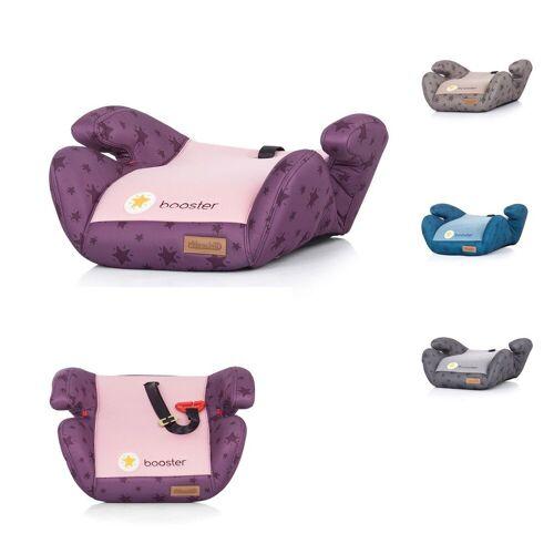 Chipolino Kindersitzerhöhung »Kindersitz Booster Gruppe 2/3«, 1.2 kg, (15 - 36 kg) Gurtführung Bezug abnehmbar, rosa