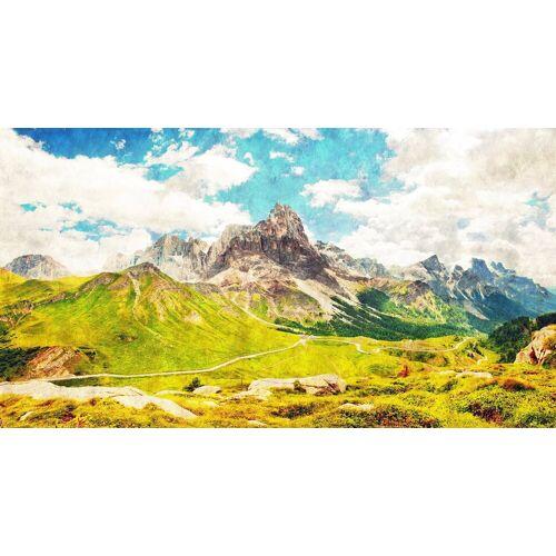 living walls Fototapete »Walls by Patel Dolomiti 1«, glatt, (5 St)