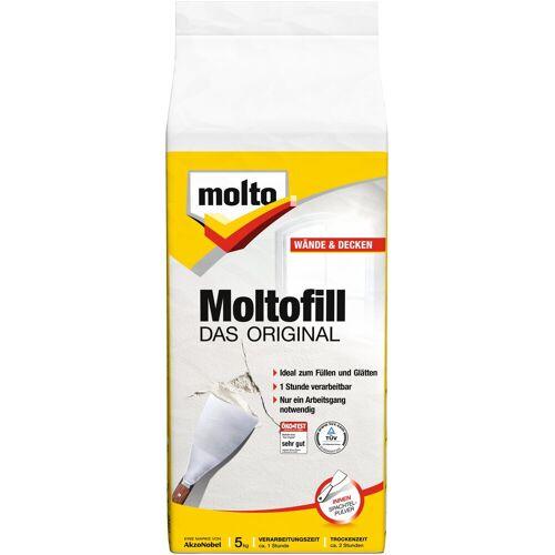 Molto Molto MOLTO Spachtelpulver »Moltofill Innen«, weiß, 5 kg, weiß