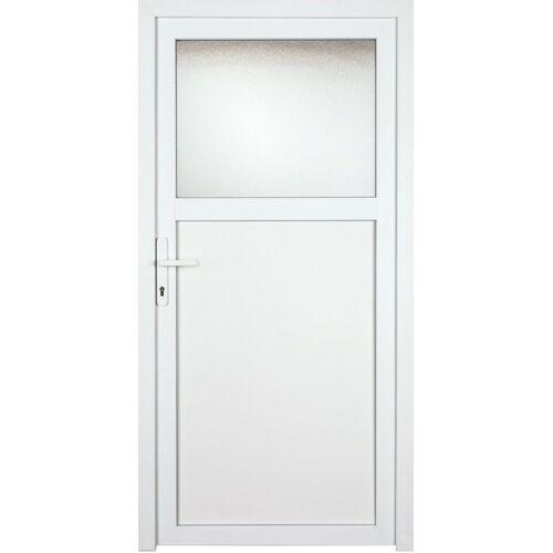 KM Zaun Nebeneingangstür »K701P«, BxH: 98x198 cm, weiß, links