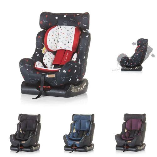 Chipolino Autokindersitz »Kindersitz Trax Neo Gruppe 0+/1/2«, 7.9 kg, (0 - 25 kg), Leinen- und Jeansstoff, bunt