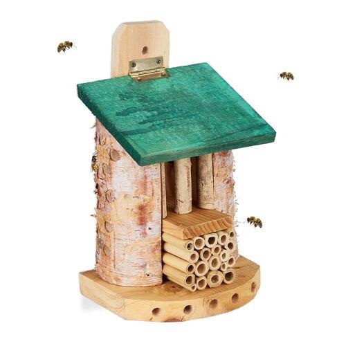 relaxdays Insektenhotel »Insektenhotel Bienen«