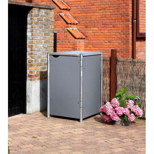 Hide Mülltonnenbox für 1 x 120 l, grau, grau