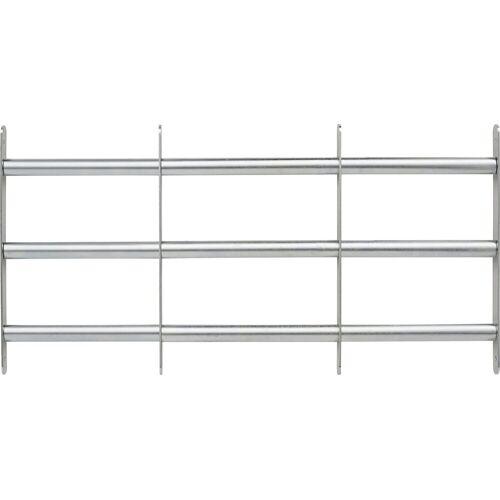 ABUS Fenstersicherung »FGI7300 700-1050x300«, Fenstergitter, zur Montage in der Fensterlaibung, silberfarben