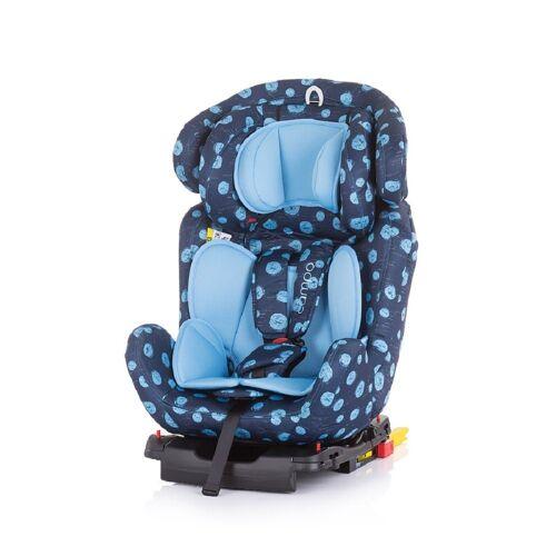 Chipolino Autokindersitz »Kindersitz Campo Gruppe 0+/1/2/3«, 8.3 kg, (0 - 36 kg), Isofix, Top Tether, SPS, blau