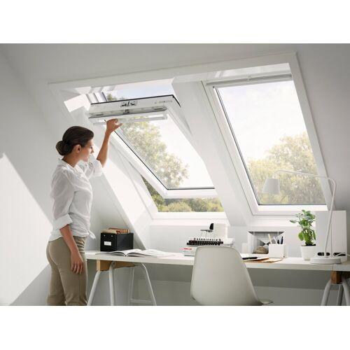 VELUX Dachfenster »GGU CK04«, Schwingfenster, BxH: 55x98 cm, anthrazit
