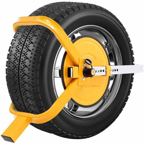 COSTWAY Wegfahrsperre »Diebstahlsicherung Radsicherung Reifenkralle«