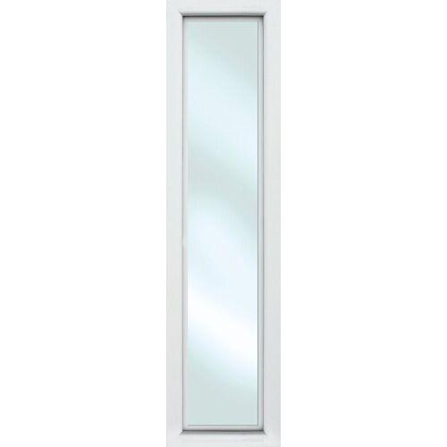 KM Zaun Türseitenteil »S01«, für Alu-Haustür, weiß