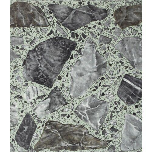 Vinylfliesen »PVC-Fliese«, 1,2 mm, 45 Fliesen, selbstklebend, natursteinoptik, selbstklebend, grau bruch natursteinfarben