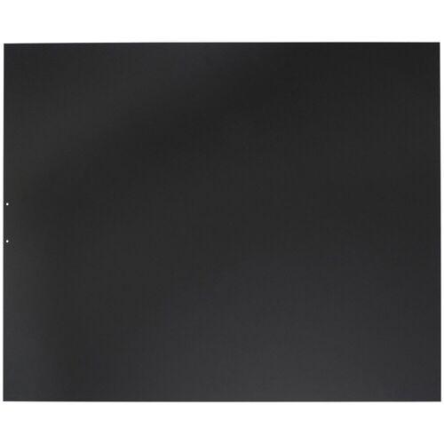 JUSTUS ORANIER Stahlbodenplatte für Kaminöfen »B1«, 100x120 cm, schwarz, zum Funkenschutz, schwarz