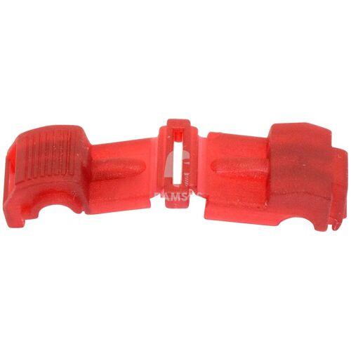 RAMSES Verbinder , Abzweigverbinder rot 0,5 - 0,75 mm² 50 Stück, rot