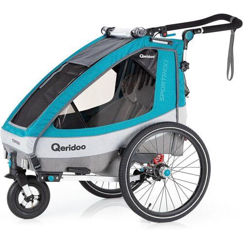 Qeridoo Fahrradkindersitz »Sportrex1 2020 Petrol«