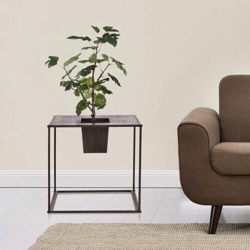 casa.pro Pflanzkübel (2 Stück), Pflanzkübel Edelrost Würfelform Blumenkübel Blumentopf Pflanzen Indoor