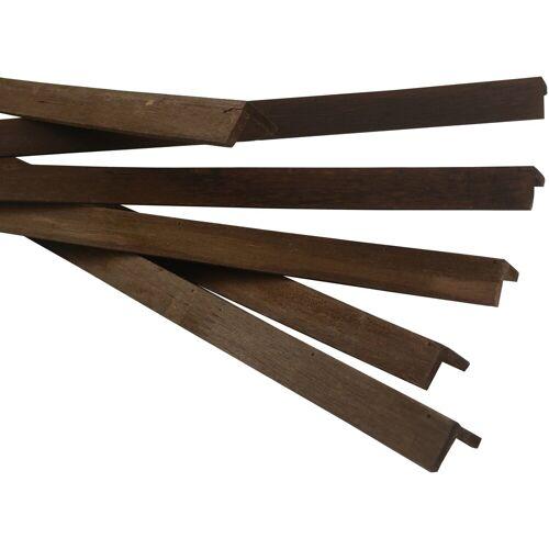 My Wood Wall Sockelleiste »Java«, L: 120 cm, H: 2,50 cm, 6-St.