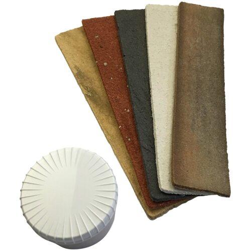 ELASTOLITH Komplett-Set: Verblender »Musterset Innenverblender«, 21 x 5 cm, 5 Farbmuster, beige
