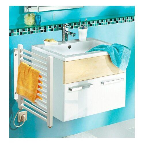 SZ METALL Elektrischer Badheizkörper, Handtuchheizkörper, klein, weiß