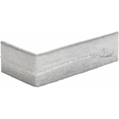 ELASTOLITH Verblender »Nebraska Eckverblender«, (24-tlg) grau, für Innen- und Aussenbereich, 2 Lfm