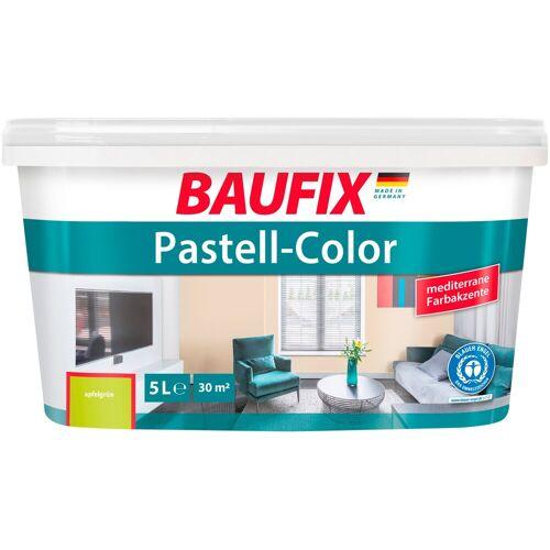 Baufix Wand- und Deckenfarbe »Pastell«, apfelgrün, 5 L, apfelgrün