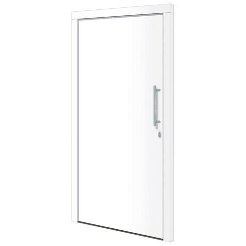 RORO Türen & Fenster Haustür »Otto 1«, BxH: 100x210 cm, weiß, ohne Griff