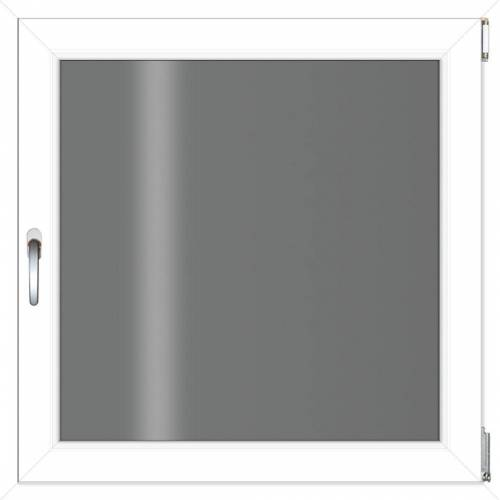 RORO Türen & Fenster RORO TÜREN & FENSTER Kunststoff-Fenster BxH: 60x60 cm, ohne Griff, weiß