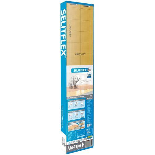 Selit Trittschalldämmung »FLEX«, für Fußbodenheizung geeignet, weiß/gold