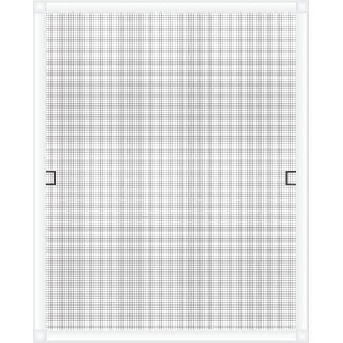 Nematek Insektenschutzplissee »® Fliegengitter Fenster LIGHT, ohne Bohren - Insektenschutz Gitter mit Alurahmen - Mückengitter Fenstergitter Fliegengitter«, , Weiß