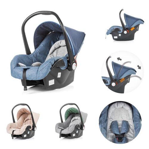 Chipolino Babyschale »Kindersitz, Babyschale Avenue Gruppe 0+«, 2.6 kg, (0 - 13 kg) mit Innenkissen, blau