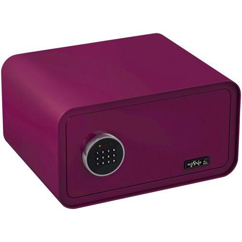 BASI Tresor »mySafe 430«, mit Zahlencode, lila