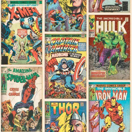 Marvel Papiertapete »Action Heroes«