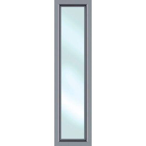 KM Zaun Türseitenteil »S01«, für Alu-Haustür, grau