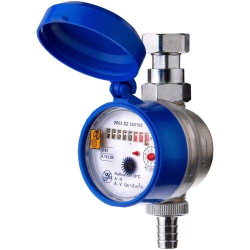CORNAT Wasserzähler, blau