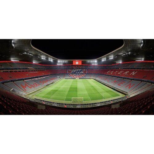 Fototapete FCB Stadion bei Nacht