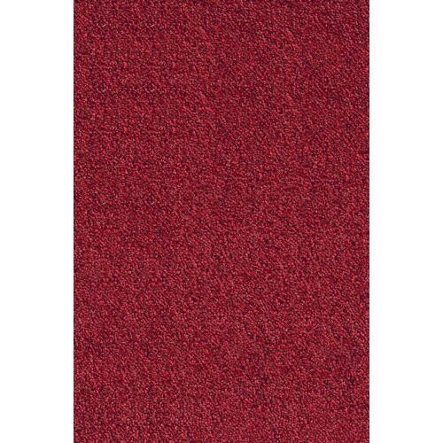 Andiamo Teppichboden »Levin rot«, , rechteckig, Höhe 10 mm, Meterware, Breite 400 cm, uni, schallschluckend