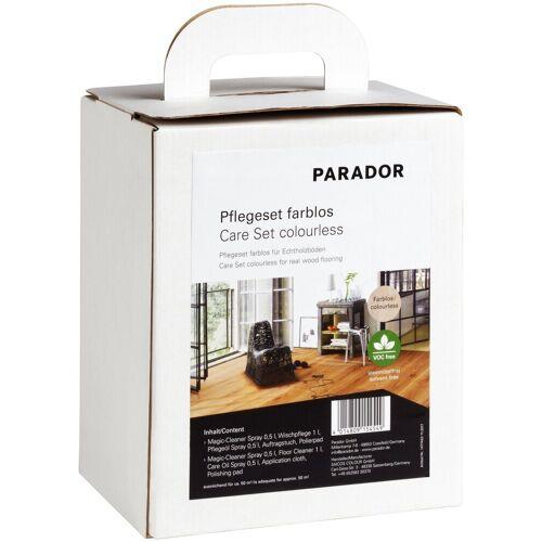 PARADOR »farblos Parkett« Bodenpflegemittel (Set, 5 St), für Echtholzböden