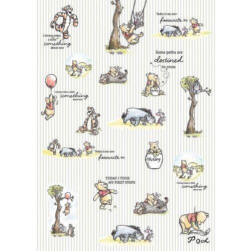 Komar Fototapete »Vlies Fototapete - Disney Winnie Pooh, 200x280 cm«