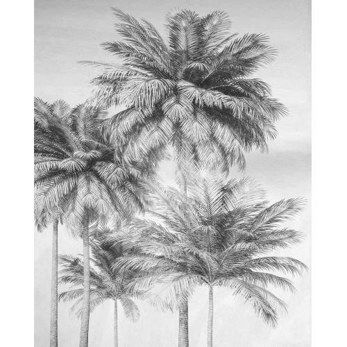 Komar Fototapete »Cocco«, glatt, floral, tropisch, bedruckt