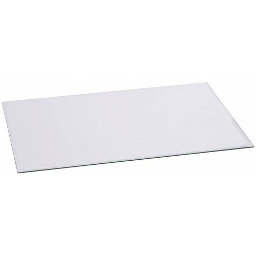 Firefix Glasvorlegeplatte rechteckig, 1200 x 550 mm, weiß